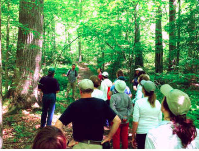 The 3-mile hike will span a variety of habitats,