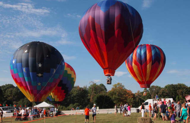 Hot air balloons will be part of Greenwich Land Trust's Go Wild! Family Field Day.