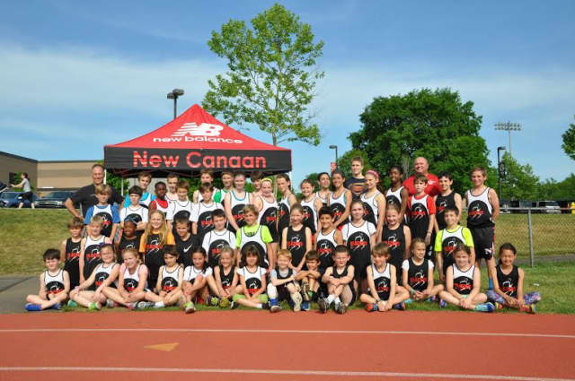 The New Balance Blazers from New Canaan had 82 young athletes on its team this spring.