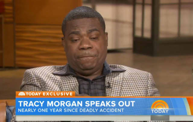 Tracy Morgan spoke to the Today Show about the crash that killed Peekskill comedian Jimmy McNair.