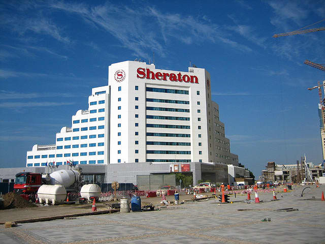 Starwood Hotels & Resorts, a Stamford-based hotel company, is planning to open more locations for its Sheraton brand.