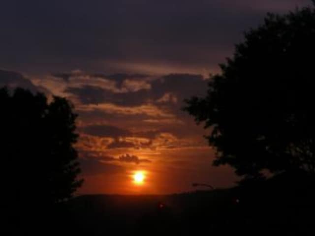 A sunset taken from Peekskill's Riverfront Green Park, which will host the Hudson Valley Exposition.