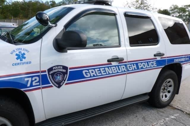 A cyclist from White Plains suffered head and leg injuries after he was hit by a car in Greenburgh Monday.