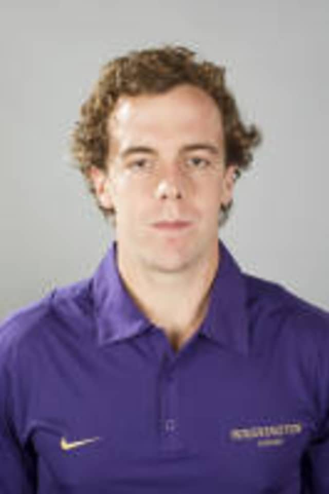 Westport's Alexander Perkins helped the University of Washington win a national title Sunday in New Jersey.