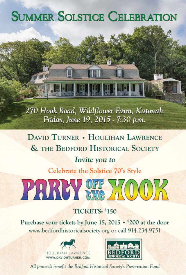 The Bedford Historical Society is offering two tickets to its summer solstice party.