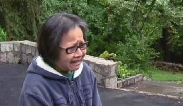 Firefighters recently rescued a Chappaqua woman from floodwaters, News 12 Westchester reported.