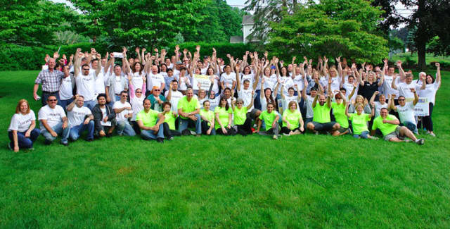 Teams of corporate volunteers will spread across Danbury on Wednesday to complete projects for United Way's Day of Action.