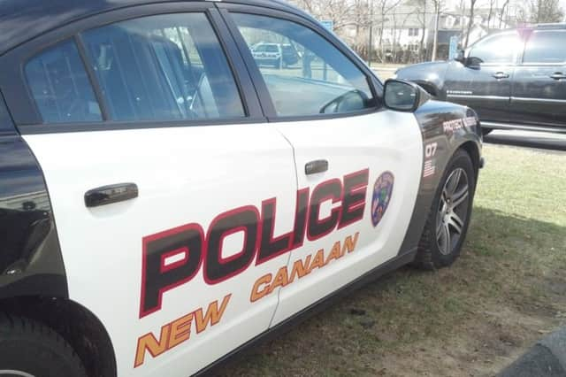A car was stolen on Woodridge Drive in New Canaan on Sunday after someone left their keys in the car