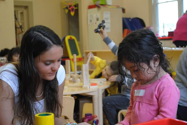 Serena Hernandez has participated in Summer Links, usually assigned to a preschool or first-grade class.