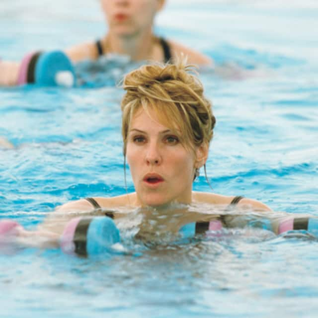 Working out in water is a fun and effective way to stay healthy