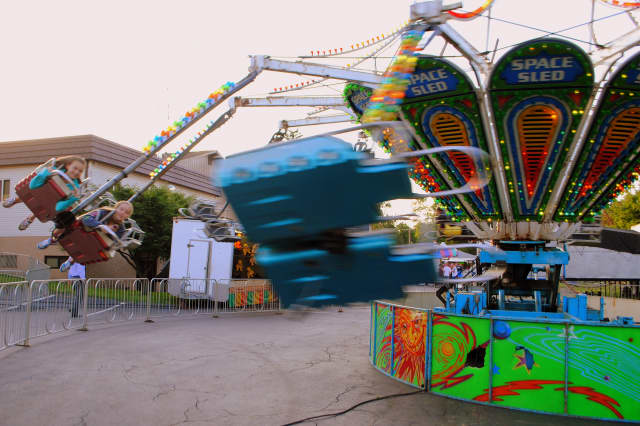 Amusement rides are among the many offerings at the Cortlandt Engine Company's annual bazaar.