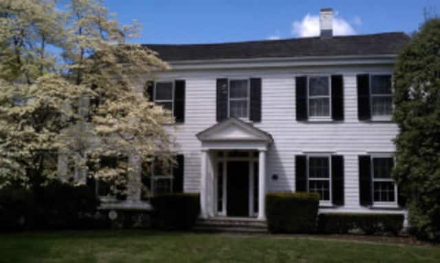 The New Canaan Historical Society's annual meeting is at the Town House.