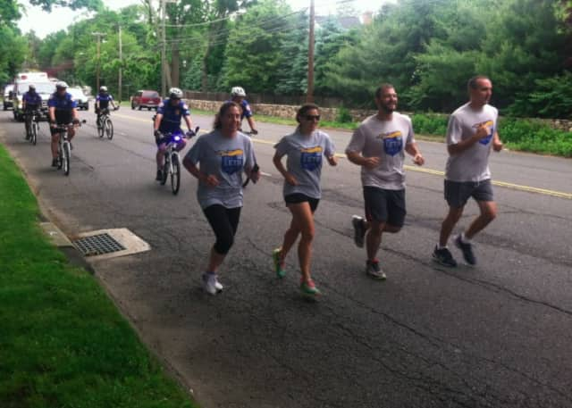 Ridgefield police officers and others will take part in the annual Law Enforcement Torch Run for the Special Olympics on Friday, June 10.
