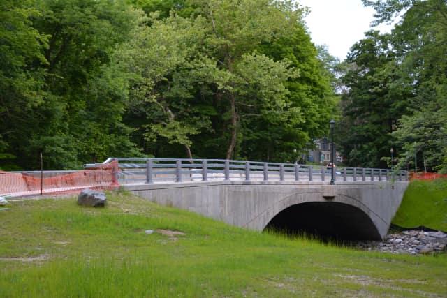 The Croton Falls Road bridge.