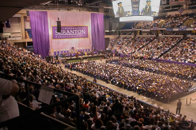The University of Scranton's undergraduate commencement was on May 31.