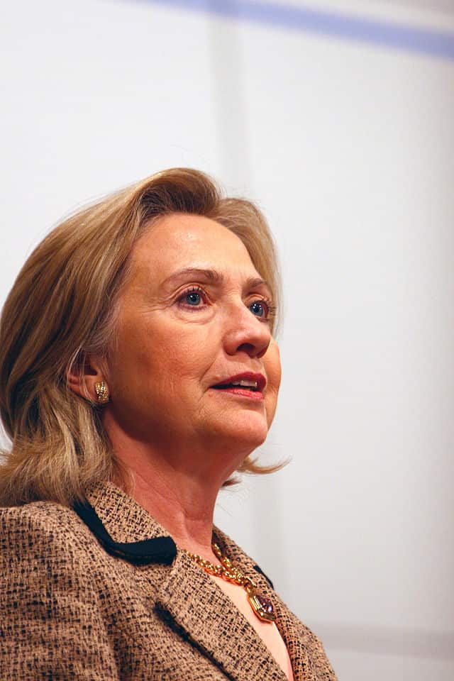Former Secretary of State Hillary Clinton is seeking the Democratic nomination for the presidency in 2016.