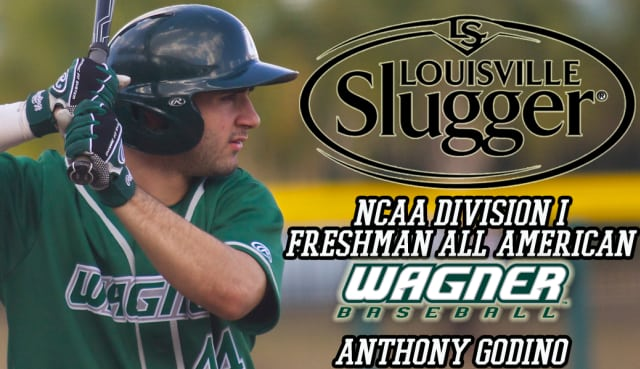 Pleasantville native Anthony Godino earned NCAA Freshman All-America honors after his season with the Wagner Seahawks.