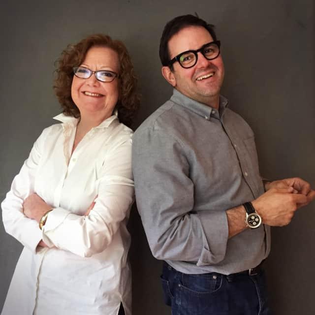 Darryl Estrine and Marcia Clark of Content Machine, LTD.