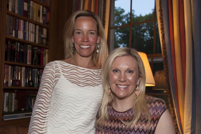 Greenwich residents Brooke Bremer and April Larken are co-chairing the Under the Stars fundraiser June 27 at Riverside Yacht Club.