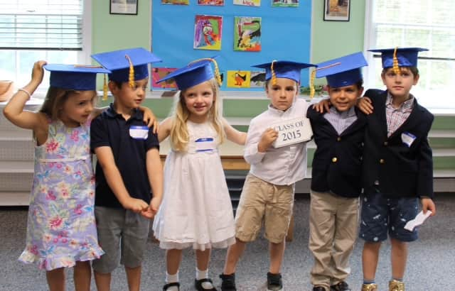 These are the graduates of the Pound Ridge Montessori School.