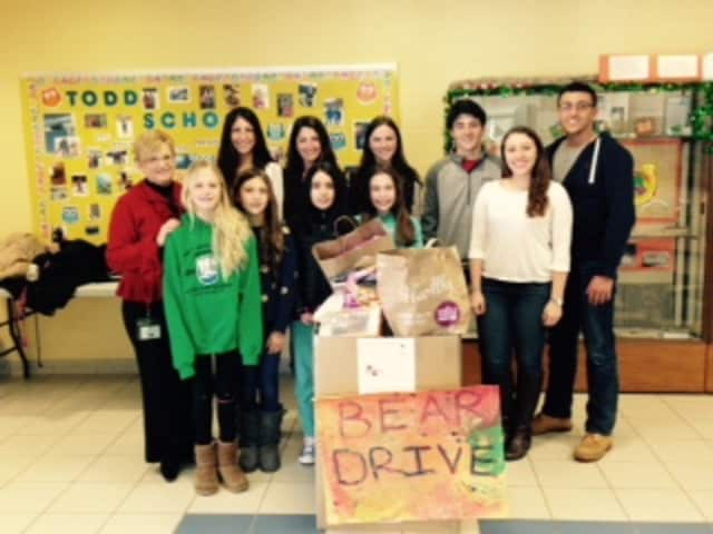 Students at Todd Elementary School, Briarcliff Middle School and Briarcliff High School worked together to collect toys.