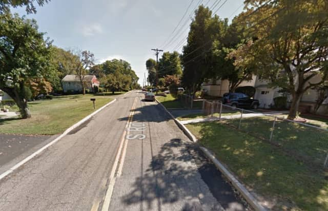 The area on South Street where Darryl Chung was killed in an apparent hit-and-run accident Tuesday.