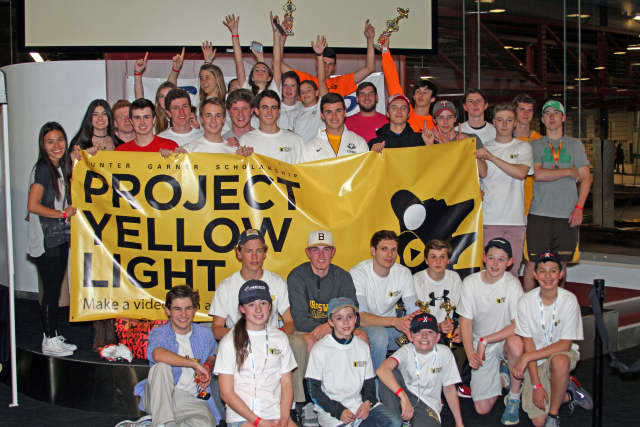 Area students recently raised $4,600 to support Project Yellow Light and promote safe driving habits.