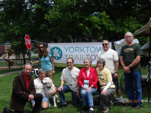 The Yorktown Town Trail Committee is distributing The North County Trailway at Yorktown Heights Map and Visitor Guide.