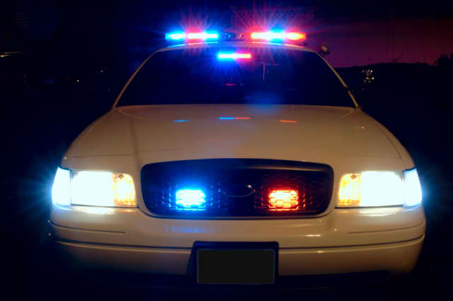 Yorktown police charged a woman with alleged criminal mischief and operating a vehicle while intoxicated.