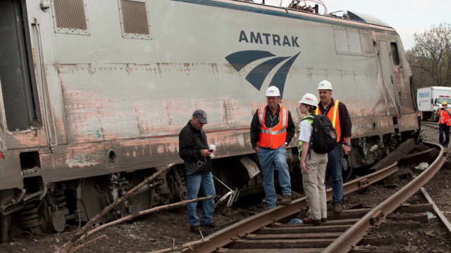 An Amtrak train reportedly struck a second Trenton person in 16 hours on Friday afternoon.