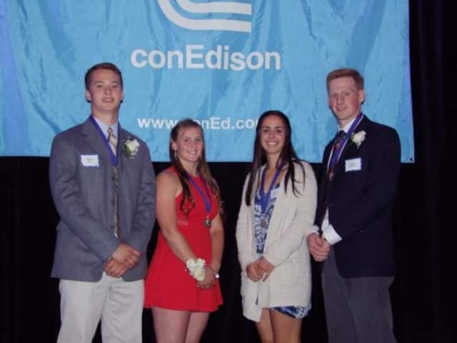 Con Edison Westchester Scholastic Sports Award winners were recognized June 3 in Harrison.