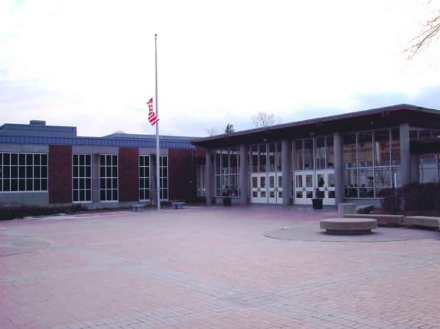 The award ceremony was held at Greenwich High School.