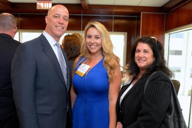 Business council of westchester honors 40 under 40 white plains photo credit contributed michael j fosina rising star eleni zimmerman and willa brody attended freerunsca Choice Image