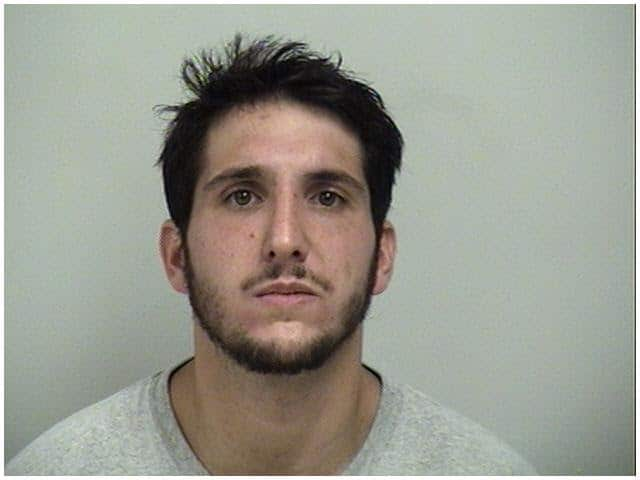 Donald Vinci, 30, of Fairfield was arrested on drug possession charges in Westport.