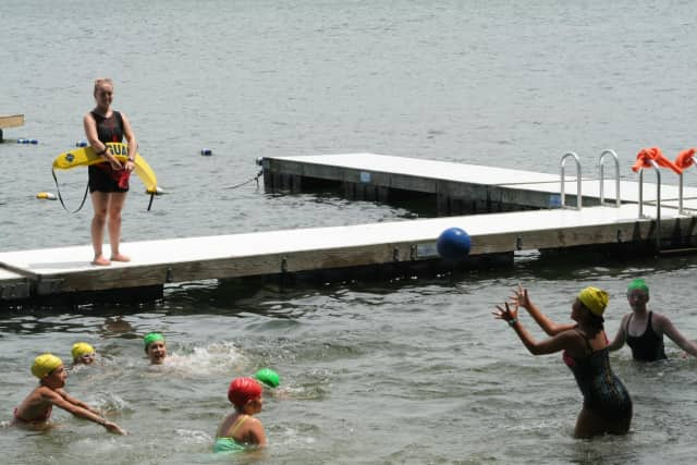 Girl Scout's Camp Candlewood is famous for its waterfront.