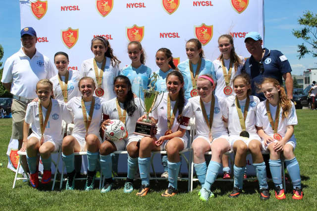 The Briarcliff-based Perfect Touch Soccer Academy won the Girls U13 NY State Cup Championship on June 13.