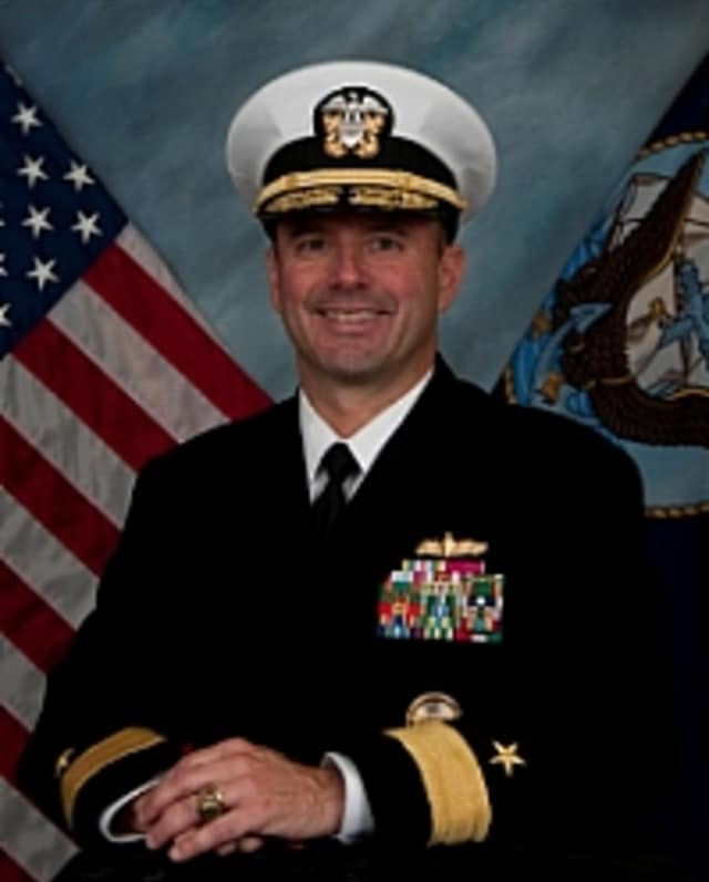 Rear Admiral James Kilby, of Mount Kisco, will be commanding the Navy's Naval Surface and Mine Warfighting Development Center.