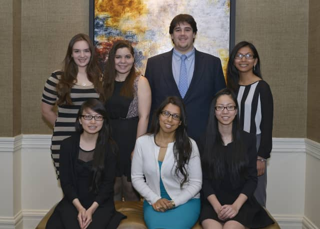These seven students received scholarships.