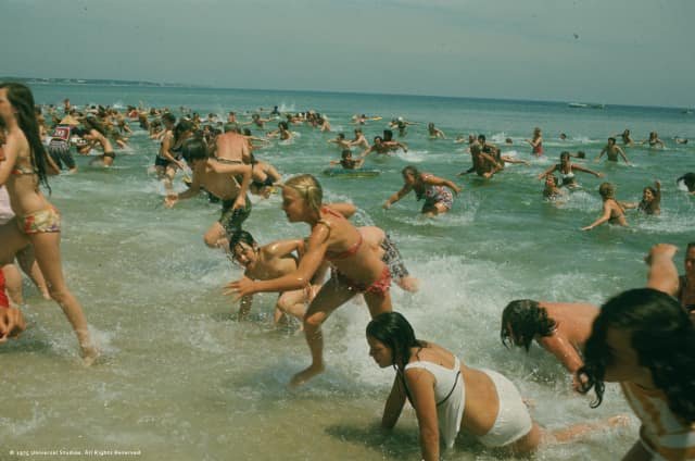 """""""Jaws"""" will screen at Cinema de Lux in White Plains on June 21 and 24."""