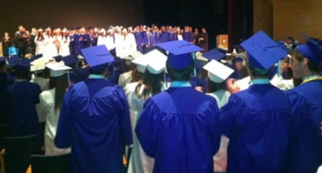 Darien High School graduation