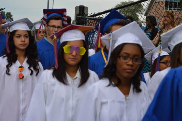 Rain will delay the Danbury High graduation for a day.