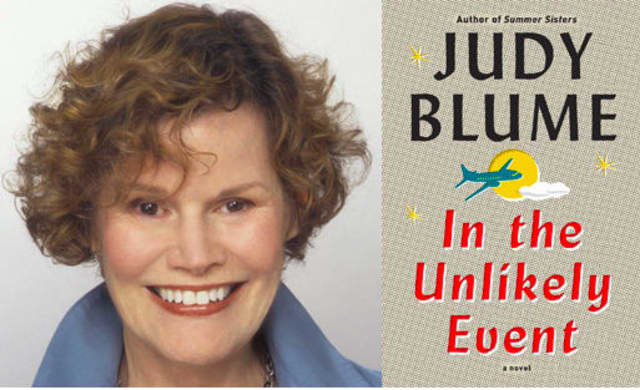 """Judy Blume will discuss her new book, """"In the Unlikely Event,"""" on Tuesday, June 23."""