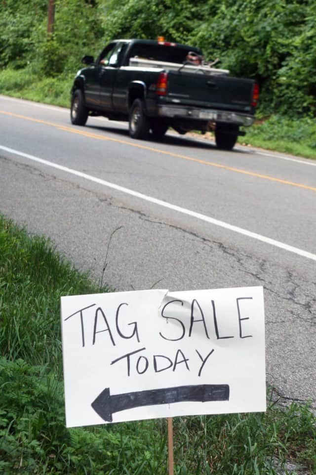 Check out tag sales in the North Salem area this weekend.