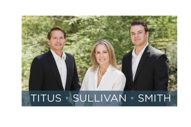 The TSS team with Chris Titus, Carolyn Sullivan-Brodsky and Cliff Smith is new at William Pitt Sotheby's International Realty in Southport.