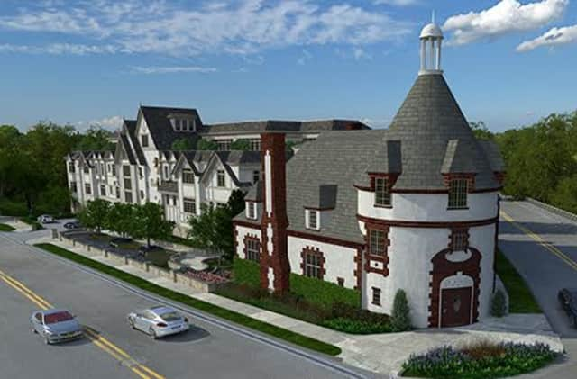 The Heathcote, a brand new 14-unit residence in Scarsdale.