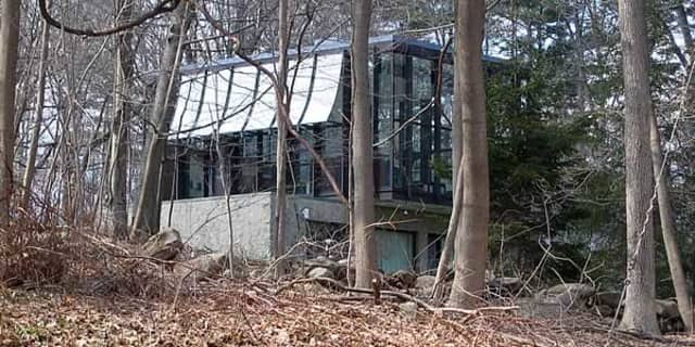 "The ""Wiley House"" in New Canaan, a midcentury modern home built in the 1950s by Philip Johnson, recently came on the market for $14 million."