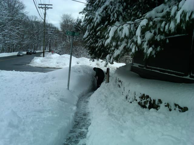 New Canaan highway crews are hoping not to have a snow-packed winter. A big snowstorm covered the town last Halloween.