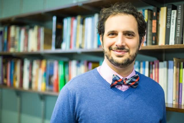 Leandro Benmergui, assistant professor of history and coordinator of Latin American studies, also heads Casa Purchase.
