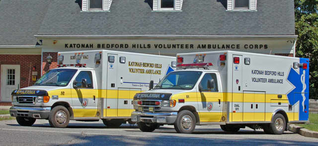 The Katonah-Bedford Hills Volunteer Ambulance Corps will host a chicken dinner Saturday night at the station in Bedford Hills.