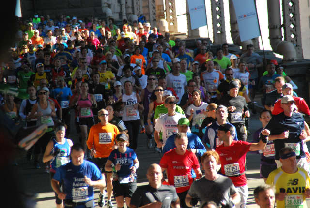 More than 40,000 runners will hit the streets of New York City on Sunday, Nov. 4, for the 2012 ING New York City Marathon.